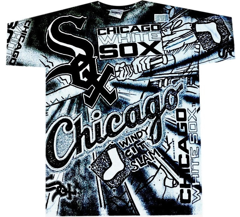 White Sox All Over Print Shirt