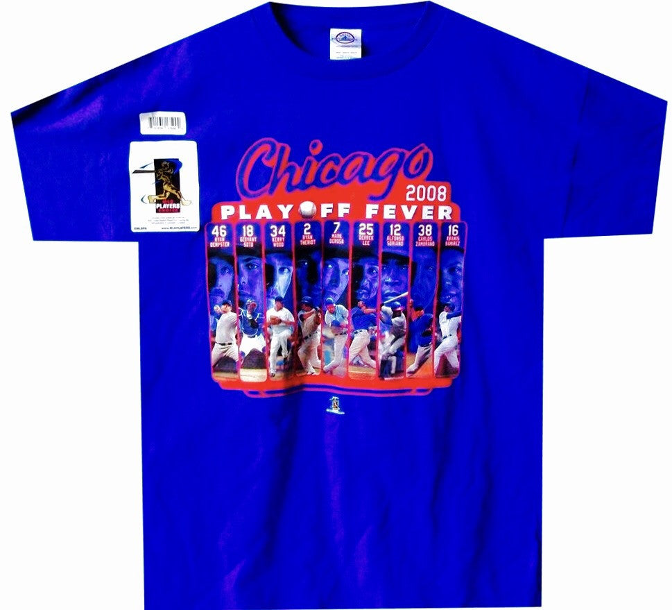 Cubs Throwback Playoff Shirt