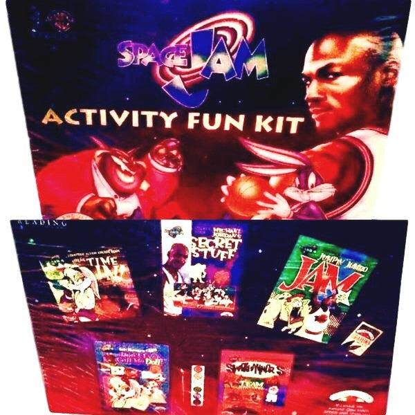 Space Jam Vintage Activity Kit