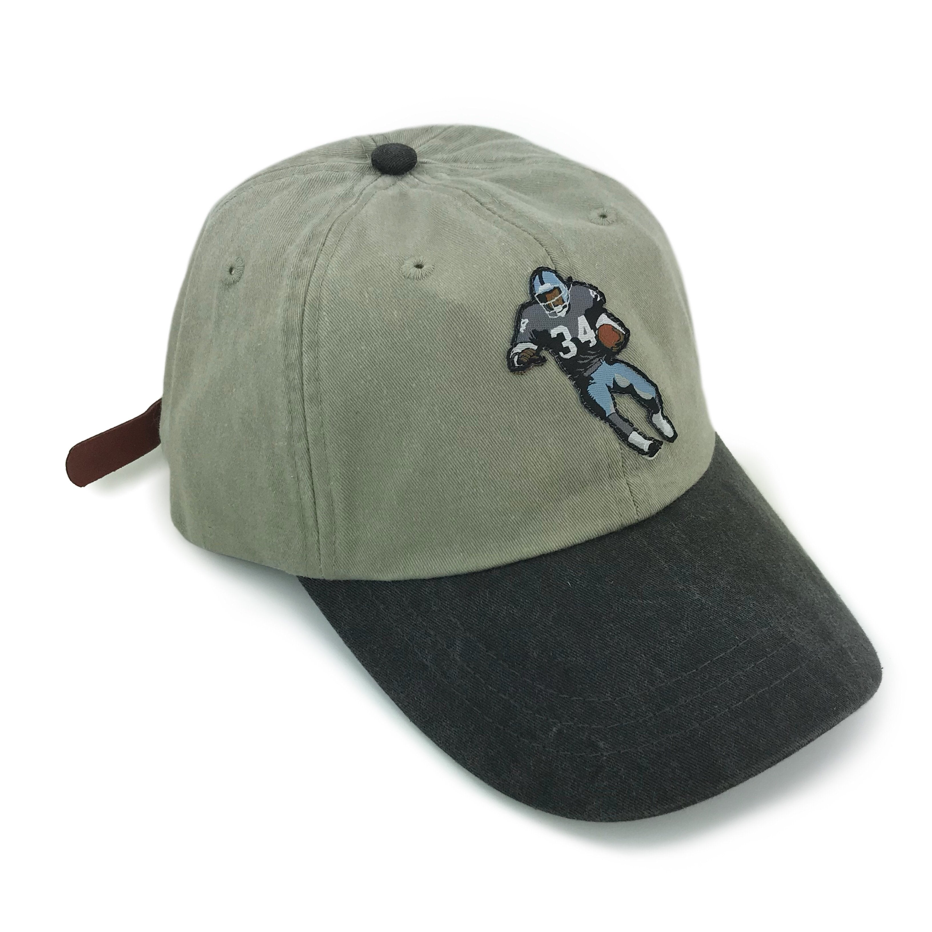 """Bo Knows"" Hat (stone/black)"