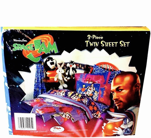 Space Jam Vintage Sheet Set