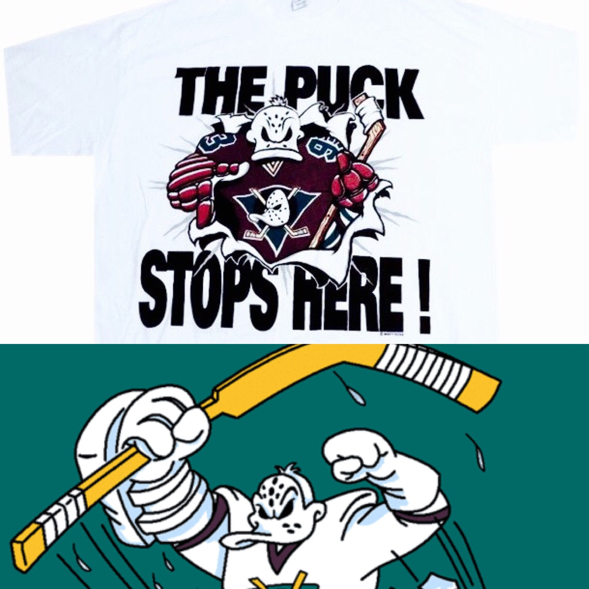 Mighty Ducks Vintage Shirt - And Still
