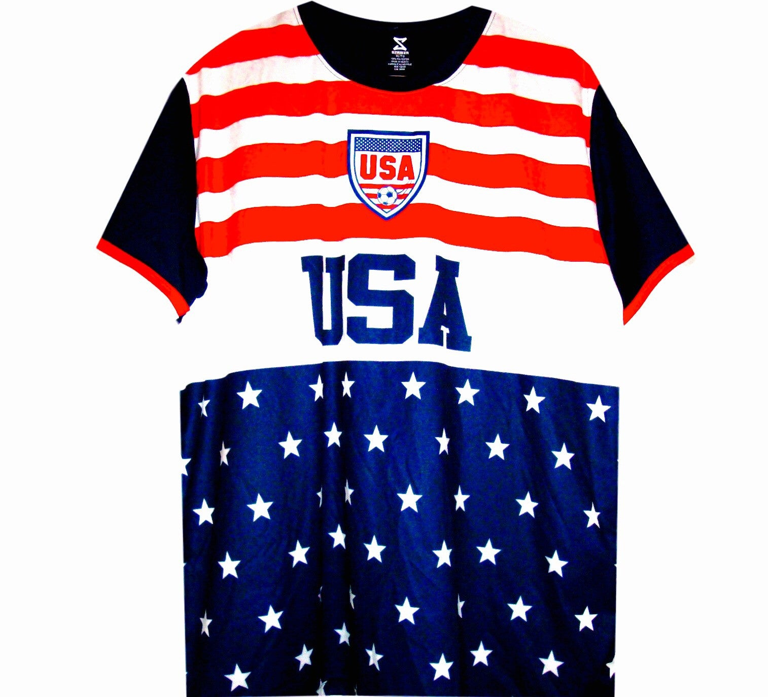 best service 4f6c5 dbfe5 USA Retro Stars & Stripes Jersey
