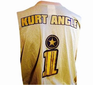 Kurt Angle Vintage WWF Jersey - And Still
