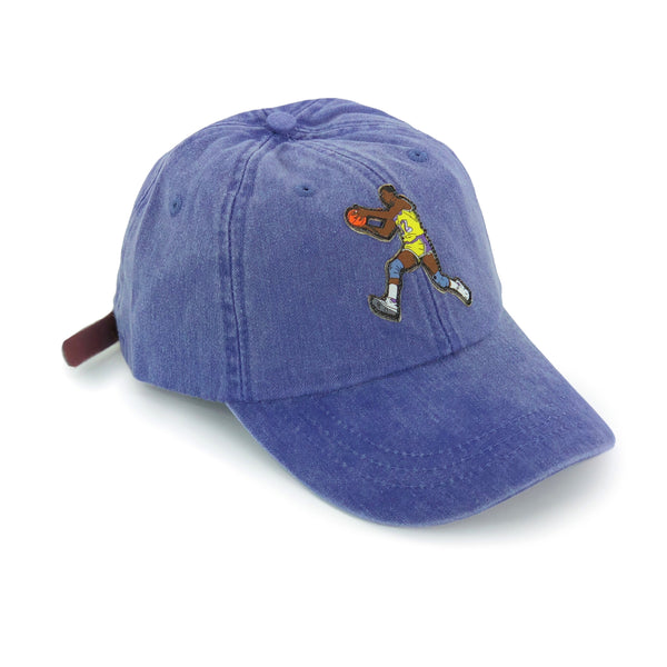 """Showtime"" Hat (dyed purple)"