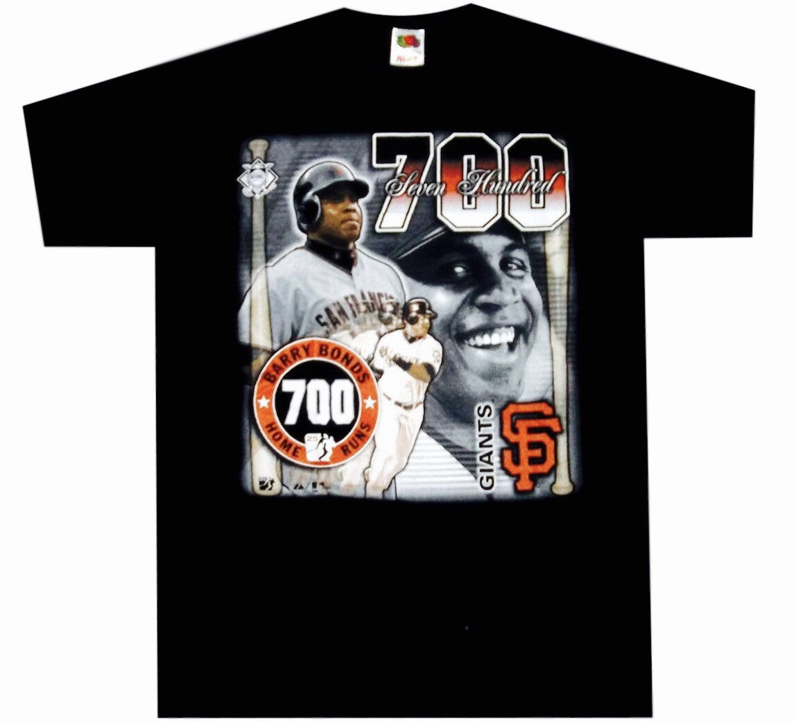 Barry Bonds 700th HR Shirt