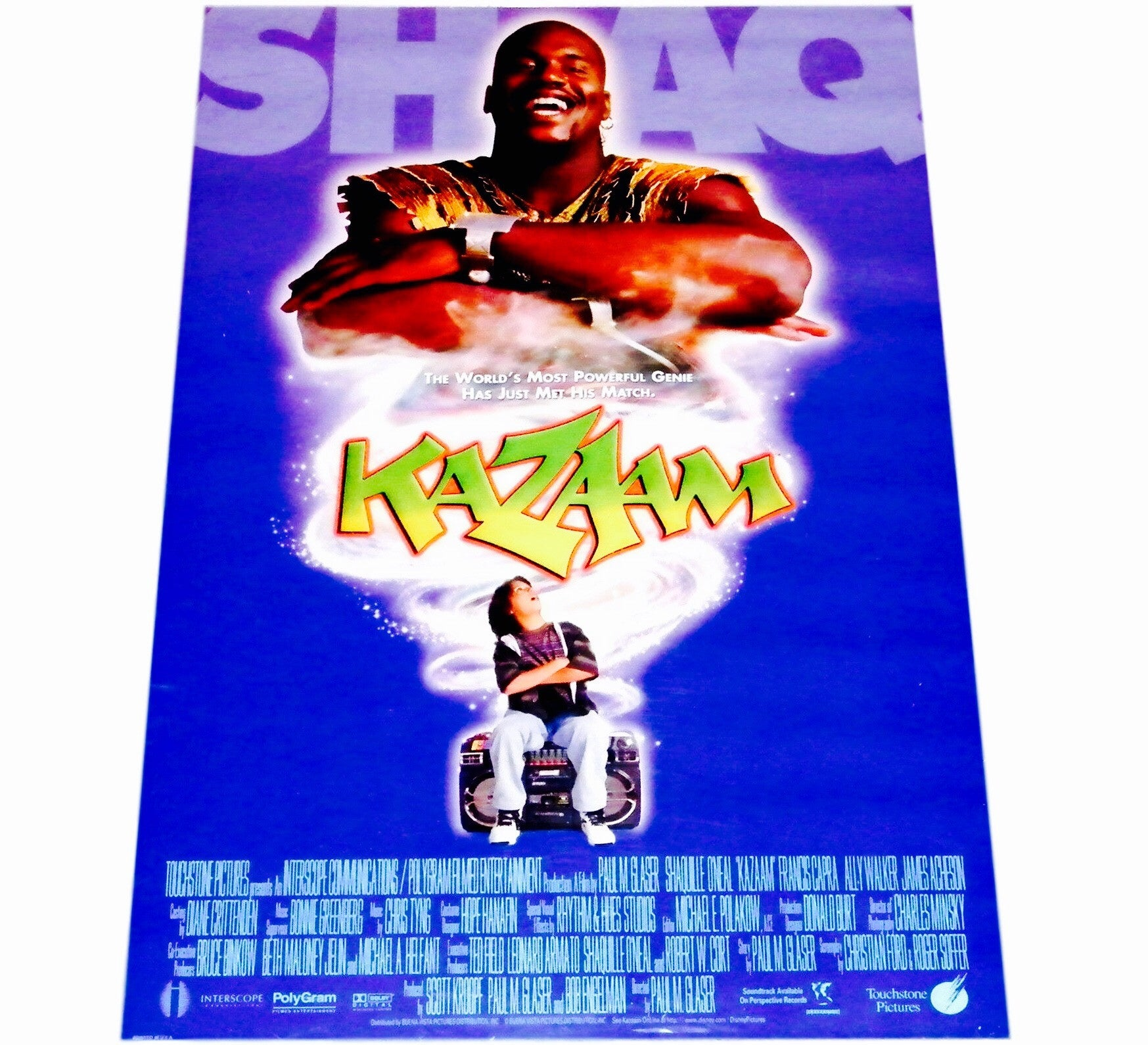 Kazaam Vintage Movie Poster - And Still