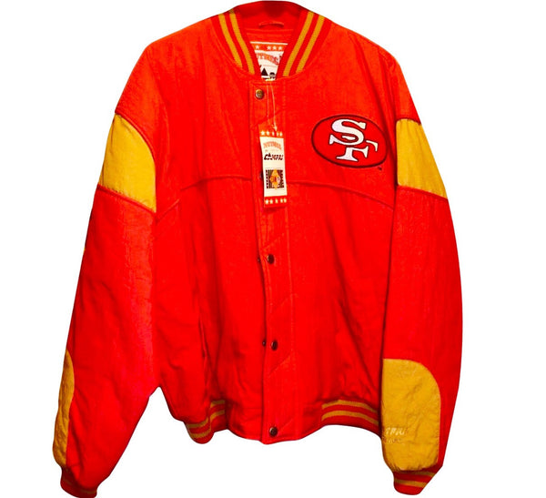 49ers Vintage 90's NFL Jacket - And Still