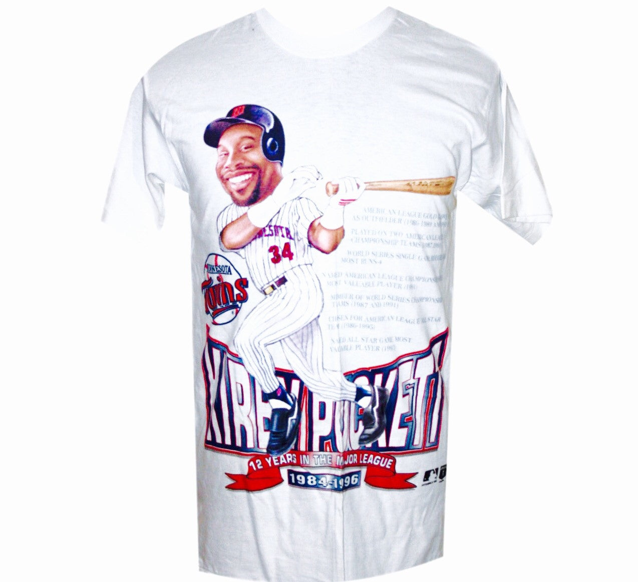 Kirby Puckett Twins 90's Shirt - And Still