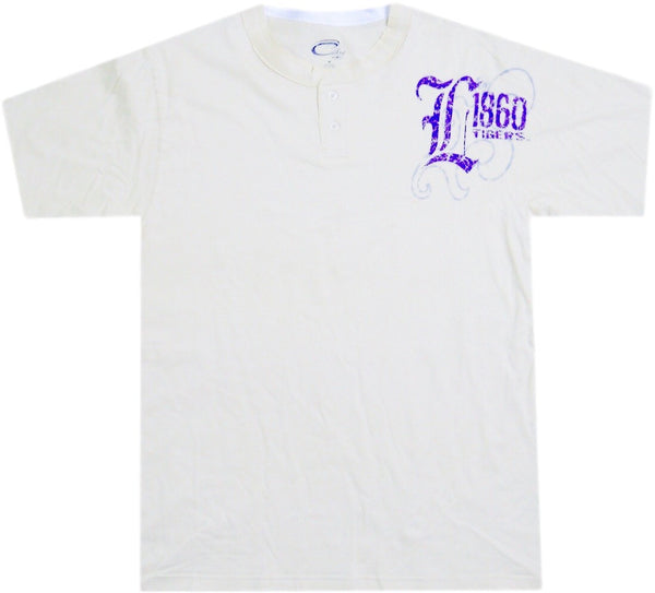 LSU Tigers Retro Henley Shirt - And Still