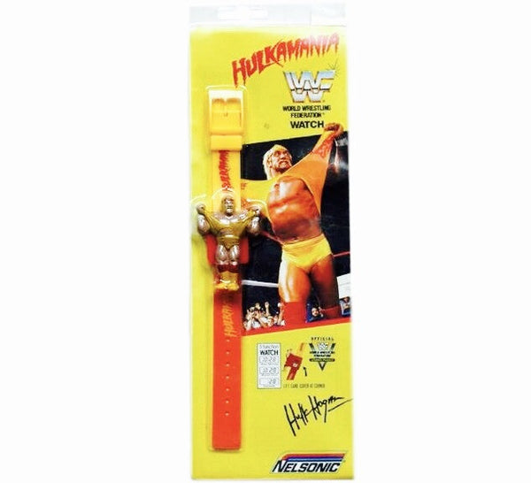 Hulk Hogan WWF 80's Watch