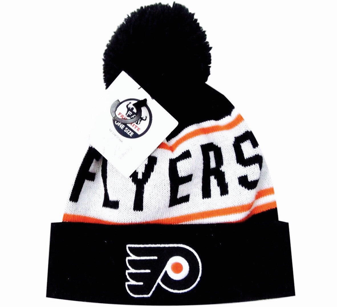 Flyers Retro Pom Knit Beanie