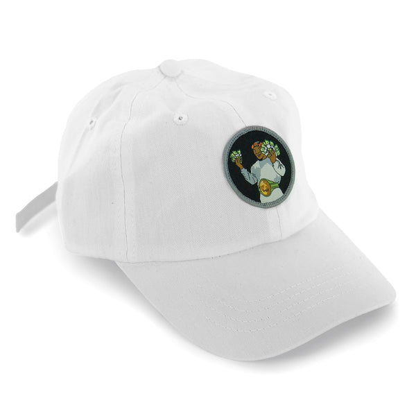 """Money Mike"" Hat (white)"