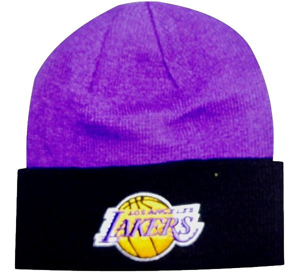 Lakers Retro NBA Knit Beanie - And Still