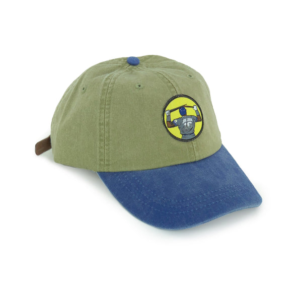 """Bo Breaker"" Hat (Khaki/Blue)"