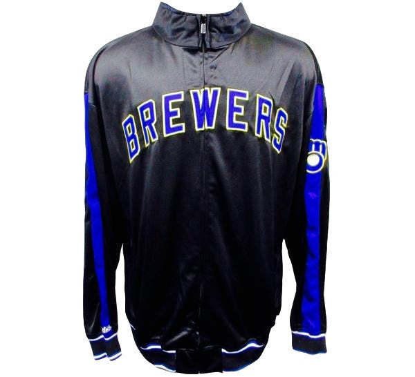 Brewers Retro Track Jacket - And Still