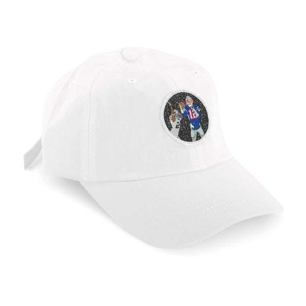 """Tuck Rule"" Hat (white)"