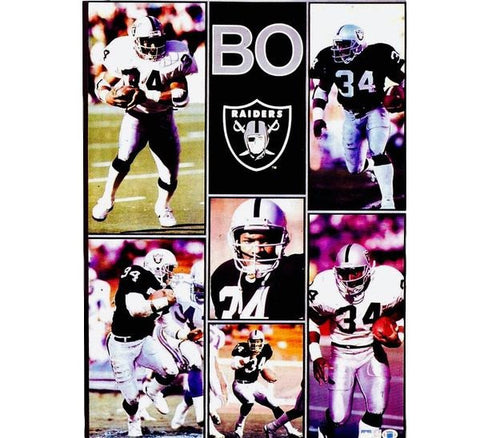 Bo Jackson Jumbo 90's Poster - And Still