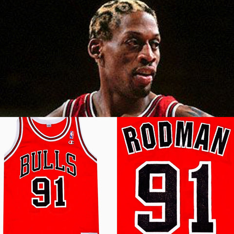 Dennis Rodman Bulls Jersey - And Still