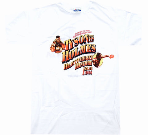 Tyson VS Holmes Fight Shirt