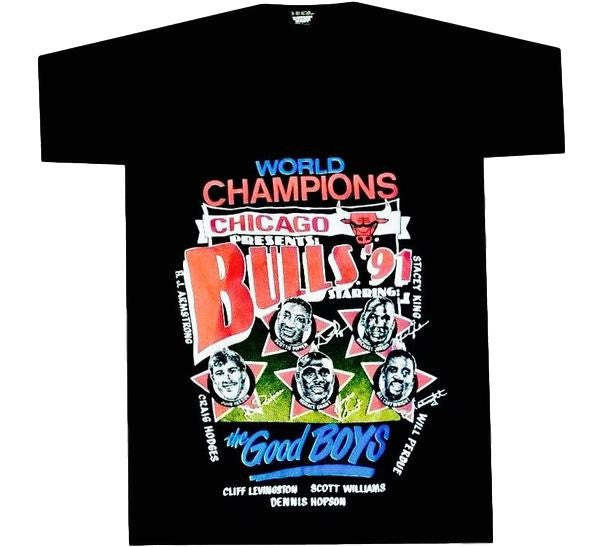Bulls Vintage 91 Champs Shirt - And Still