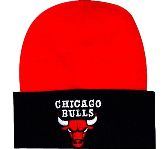 Bulls Retro NBA Knit Beanie