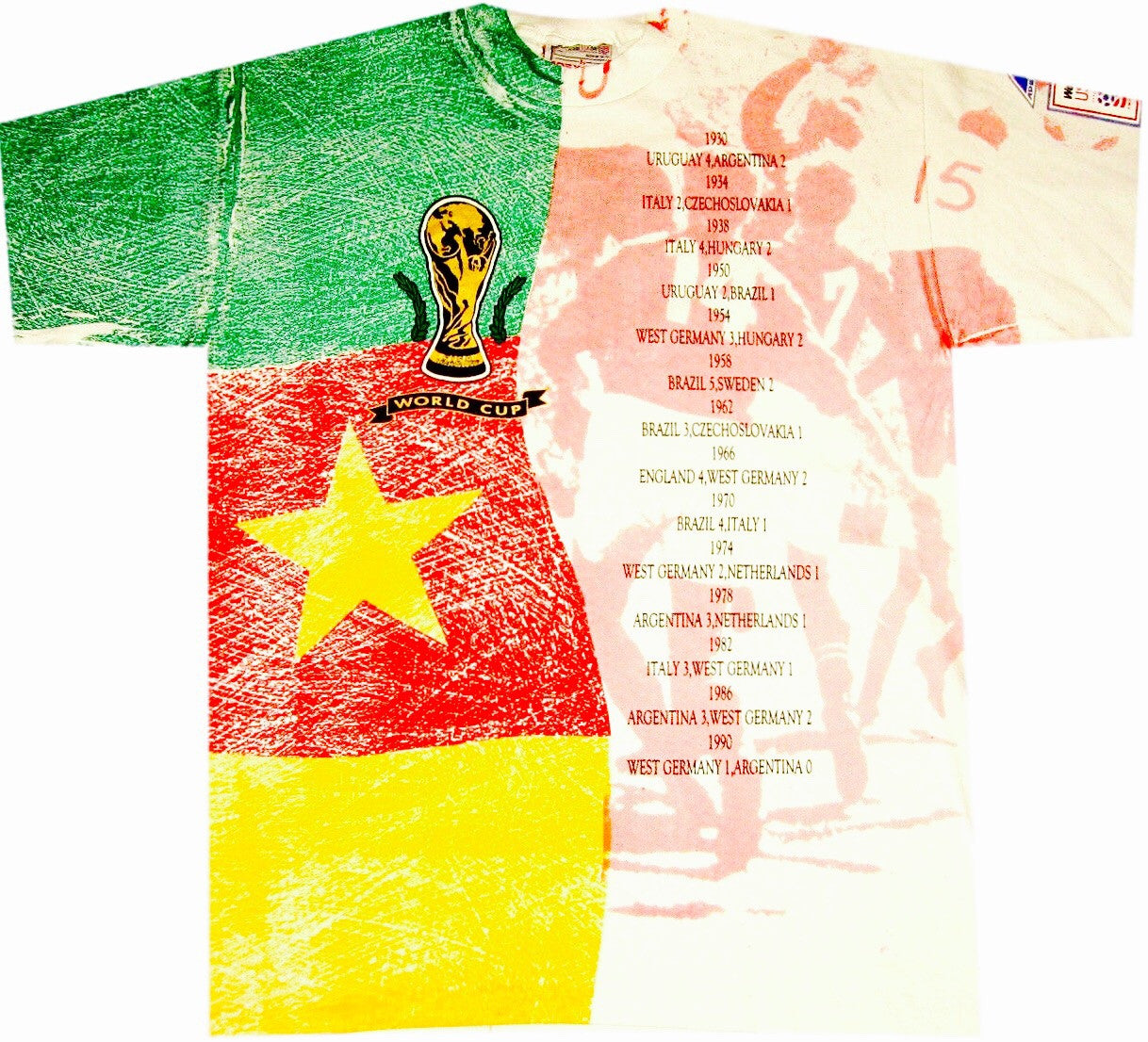 1994 World Cup Vintage Shirt - And Still