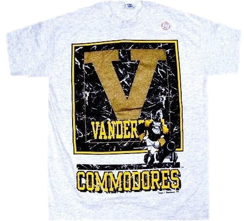 Commodores Vintage 90's Shirt