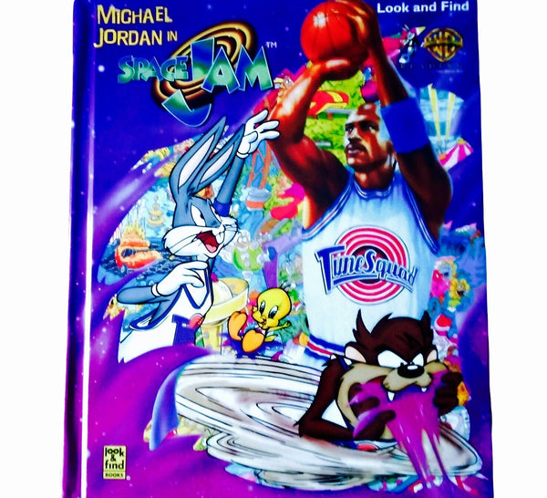 Space Jam Hardcover Book