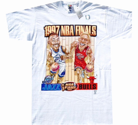 Bulls Jazz Vintage Finals Shirt