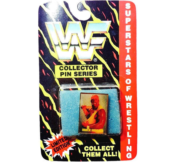 Hulk Hogan Vintage WWF Pin - And Still