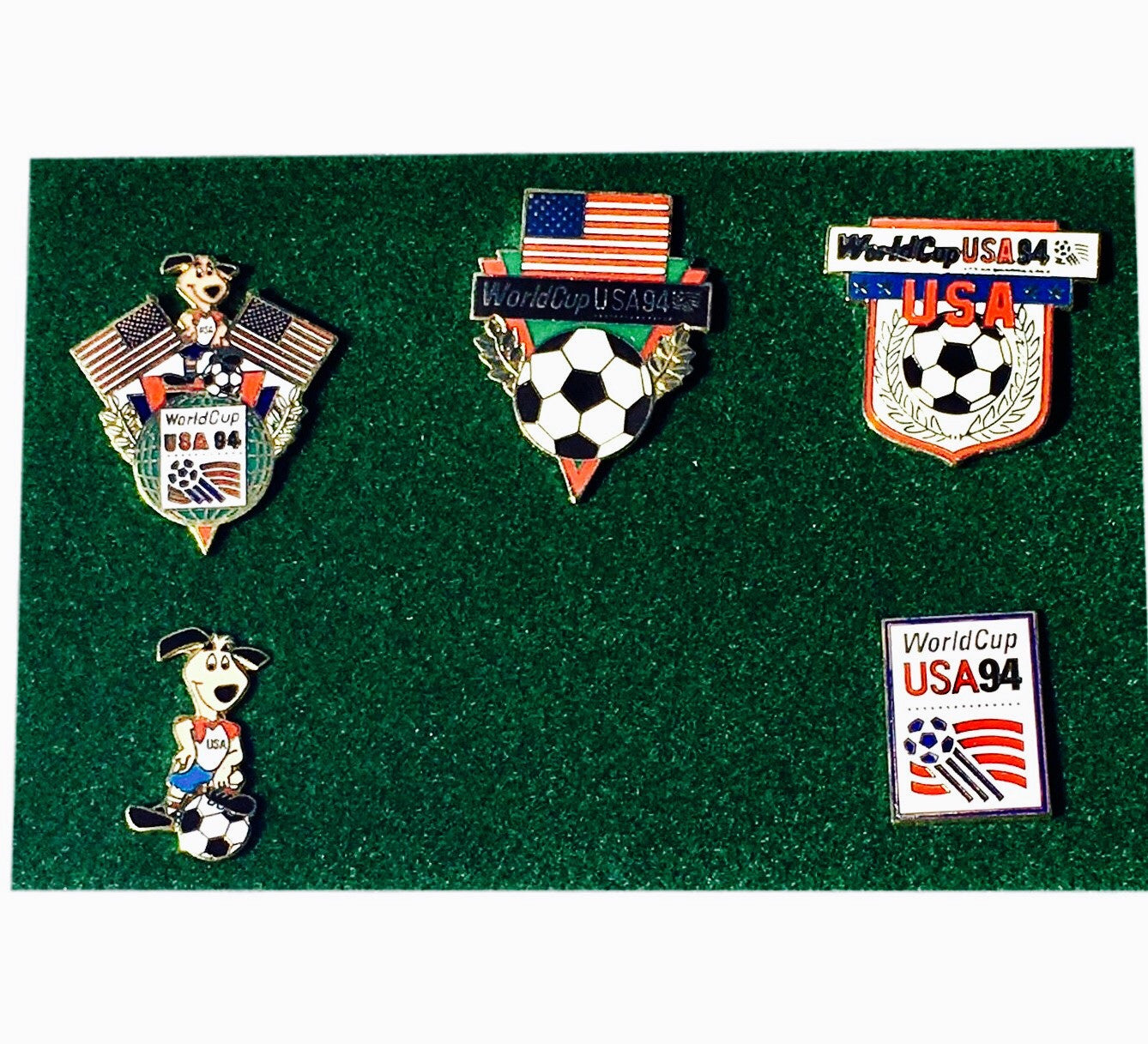 1994 World Cup USA Pin Set - And Still