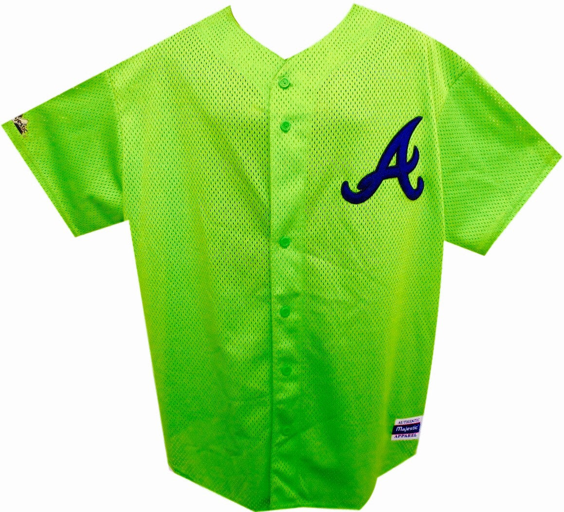 Braves Vintage 90's BP Jersey - And Still