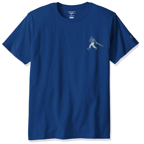 """The Kid"" Champion T-Shirt (Blue) - A.M. VINTAGE"