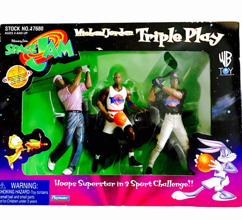 Space Jam Triple Play Toy Set
