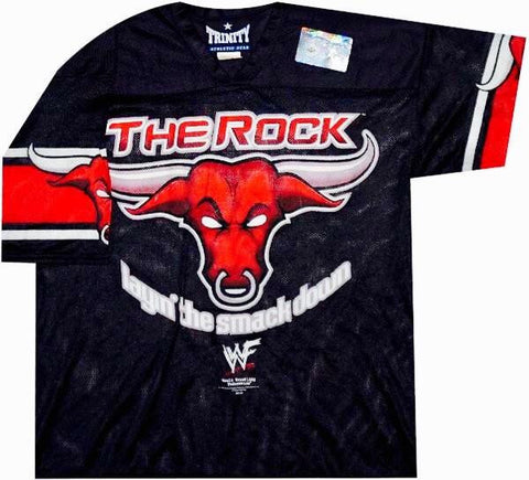 The Rock Vintage WWF Jersey