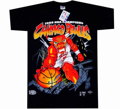Bulls Vintage 98' Champs Shirt - And Still