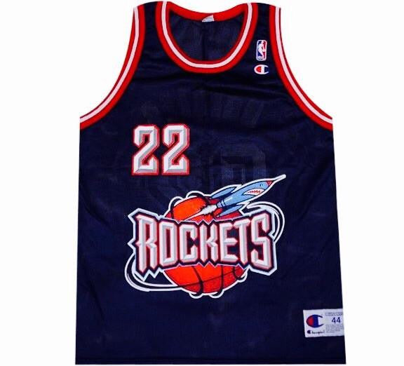 Clyde Drexler Rockets Jersey - And Still