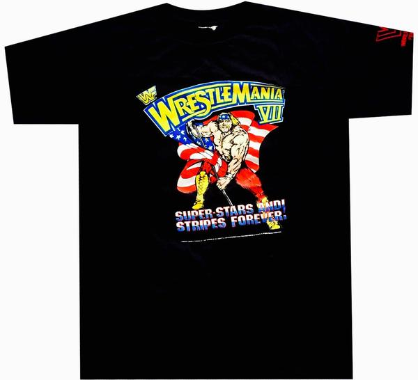 Wrestlemania Vintage Shirt