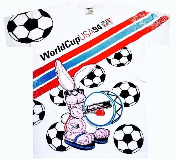 1994 Energizer World Cup Shirt
