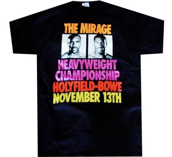 Holyfield VS Bowe Fight Shirt
