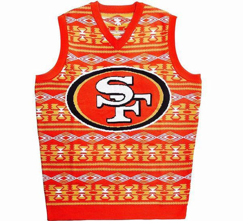 49ers Retro NFL Sweater Vest
