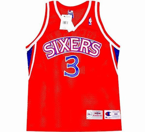 Allen Iverson Authentic Jersey - And Still