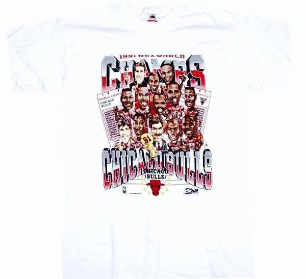 Bulls Vintage NBA Champs Shirt