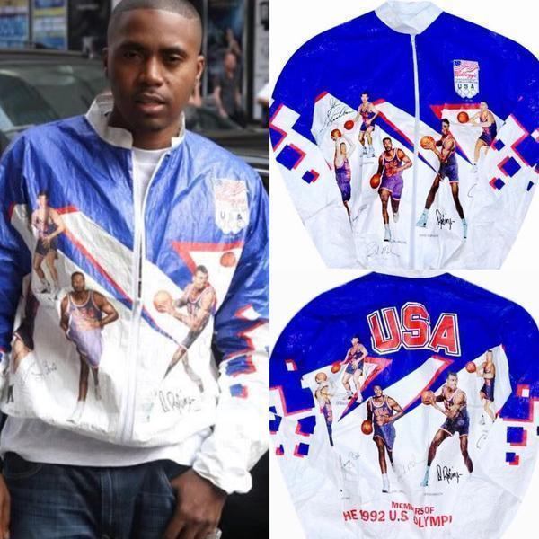 1992 Dream Team Tyvek Jacket