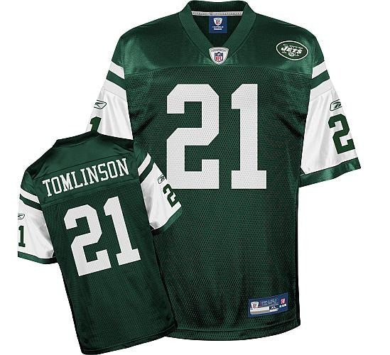 huge selection of 77831 aefd3 Ladainian Tomlinson Jets Jersey