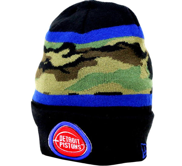 Pistons Retro Knit NBA Beanie