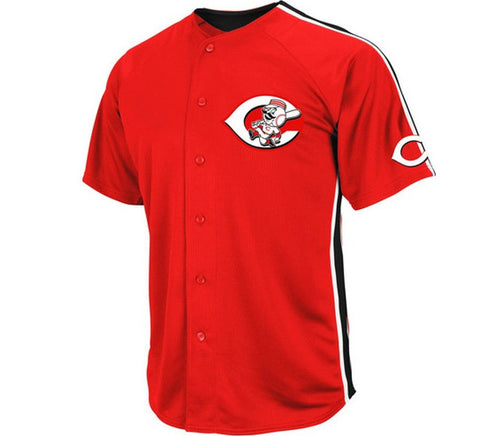 Reds Retro Majestic Jersey