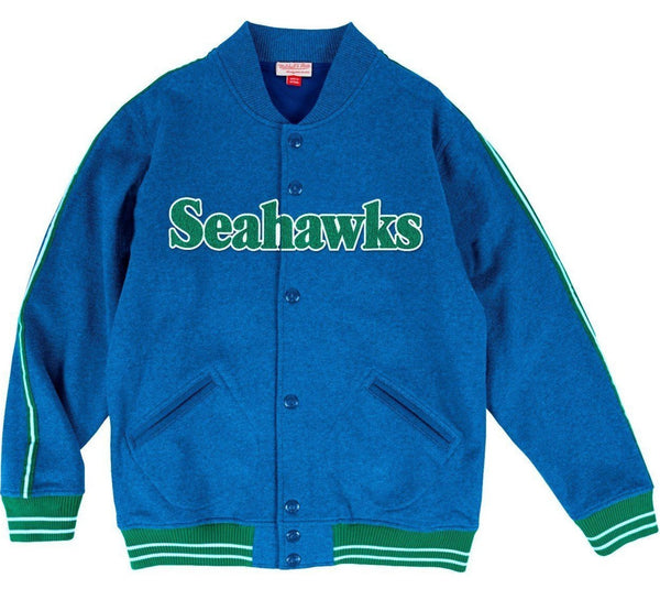 Seahawks Fleece Varsity Jacket