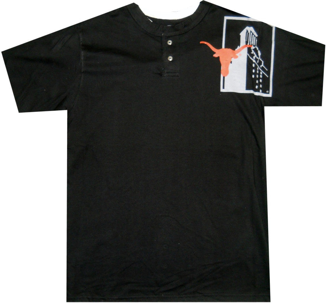 Longhorns Retro Henley Shirt - And Still